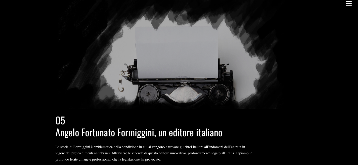 https://unasurrealenormalita.it/capitoli/capitolo-5/. Angelo Fortuna Formiggini, un editore italiano